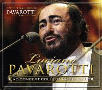 Cover Luciano Pavarotti - Live Concert Collection [Box-Set]